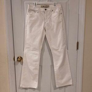 GAP Boot Cut Stretch White Jeans Size 6R